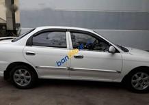 Bán xe cũ Kia Spectra đời 2003, màu trắng xe gia đình giá cạnh tranh