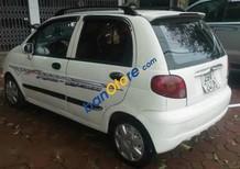 Bán xe cũ Daewoo Matiz SE đời 2004, màu trắng xe gia đình