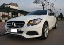Bán Mercedes C200 đời 2015, màu trắng như mới
