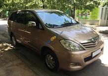 Bán xe Toyota Innova 2.0G đời 2009, chính chủ từ đầu, mầu ghi vàng
