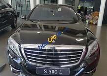 Cần bán Mercedes S500 đời 2017, màu đen, nhập khẩu nguyên chiếc