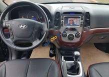 Cần bán gấp Hyundai Santa Fe MT đời 2008, màu đen, nhập khẩu số sàn, 560tr