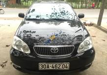 Cần bán Toyota Corolla altis 1.8 G đời 2006, màu đen, 430tr