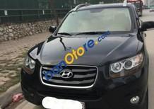 Cần bán xe cũ Hyundai Santa Fe SLX EVGT đời 2009, màu đen còn mới