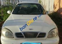 Cần bán Daewoo Lanos MT đời 2001, màu trắng