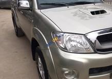 Cần bán Toyota Hilux 3.0 năm 2009, màu bạc, nhập khẩu, 435 triệu
