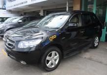 Bán xe cũ Hyundai Santa Fe CRDi 2007, màu đen, nhập khẩu