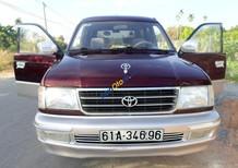 Xe Toyota Zace GL, cuối 2002, xe mới như xe hãng, màu đỏ boóc đô hiếm có