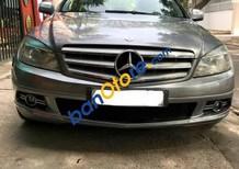 Cần bán lại xe Mercedes C200 đời 2008, màu xám ít sử dụng, 585tr