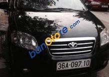 Cần bán Daewoo Gentra MT đời 2010, màu đen, giá tốt