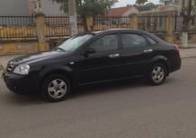 Bán xe Daewoo Lacetti ex 2009, màu đen
