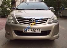Bán xe Toyota Innova G  SR đời 2010, màu vàng