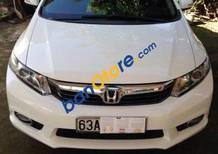 Cần bán xe Honda Civic 1.8 đời 2012, màu trắng giá cạnh tranh