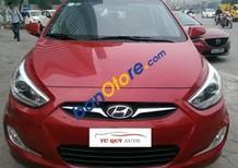 Bán xe cũ Hyundai Accent 1.4AT sản xuất 2014, màu đỏ, xe nhập