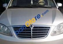 Bán xe cũ Ssangyong Stavic đời 2007, màu bạc, xe nhập xe gia đình