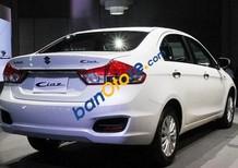 Bán ô tô Suzuki Ciaz 1.4L AT đời 2016, màu trắng, giá tốt
