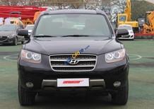 Bán Hyundai Santa Fe SLX 2.0AT đời 2009, màu đen, nhập khẩu chính hãng