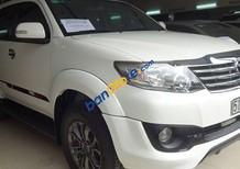 Bán Toyota Fortuner 2.7FXS AT đời 2015, màu trắng số tự động