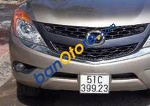 Cần bán xe Mazda BT 50 đời 2014, màu xám, nhập khẩu