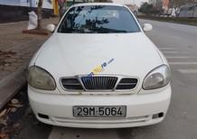 Cần bán lại xe Daewoo Lanos đăng ký lần đầu 2001, màu trắng còn mới, giá chỉ 69tr