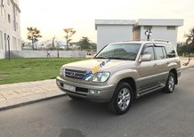 Cần bán Lexus LX470 sàn xuất 2004 ĐKLĐ 2008, màu vàng cát, xe trùm mền