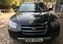 Bán xe cũ Hyundai Santa Fe SLX đời 2007, màu đen, nhập khẩu chính hãng