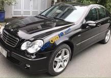 Cần bán lại xe Mercedes C240 đời 2005, màu đen, xe nhập số tự động, giá tốt