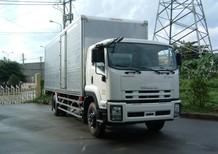 Xe tải thùng kín ISUZU 8.1 tấn , F-SERIES , thùng chở hàng, thùng dài 7.6m