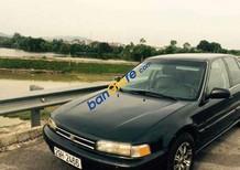 Cần bán Honda Accord đời 1992, màu đen xe gia đình
