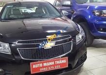 Auto Mạnh Thắng cần bán gấp Chevrolet Cruze LS đời 2013, màu đen số sàn, giá 425tr
