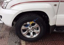 Bán Toyota Land Cruiser Prado sản xuất 2007, màu trắng, nhập khẩu số sàn