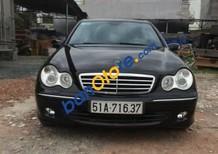 Cần bán lại xe Mercedes C240 đời 2004, màu đen, nhập khẩu chính hãng