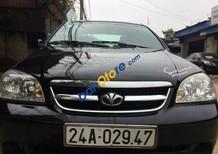 Bán xe cũ Daewoo Lacetti MT 2007, màu đen số sàn, 225 triệu