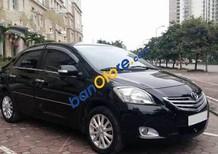 Bán xe cũ Toyota Vios MT đời 2011, màu đen số sàn, giá tốt