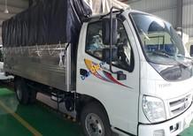 Bán xe tải thùng mui bạt 1t9, Ollin 198A, thùng dài 4,2 mét