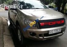 Cần bán xe Ford Ranger XLS MT năm 2014, màu ghi vàng