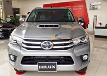 Bán ô tô Toyota Hilux G 2017, màu xám (ghi), nhập khẩu giao xe ngay khuyến mãi tốt nhất miền Nam