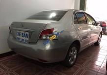 Cần bán gấp Toyota Vios E đời 2008, màu bạc số sàn