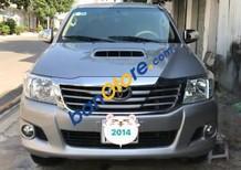 Bán Toyota Hilux đời 2014, màu bạc
