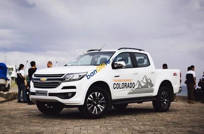 Cần bán xe Chevrolet Colorado 2.5L 4x2 MT LT đời 2017, màu trắng, nhập khẩu chính hãng, giá chỉ 619 triệu