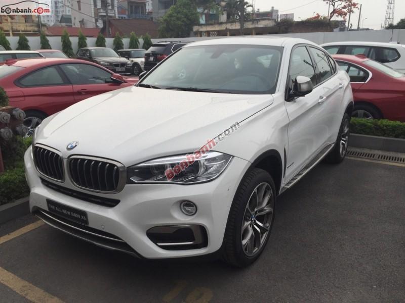 Bán xe BMW X6 xDrive 35i đời 2015, màu trắng, nhập khẩu