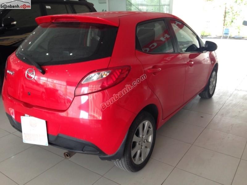 Bán xe Mazda 2 1.5AT đời 2011, màu đỏ, xe nhập
