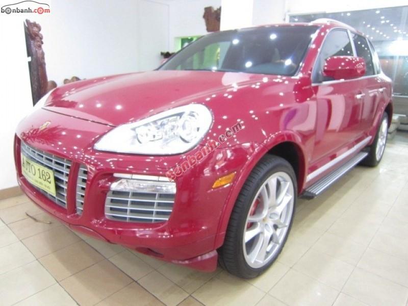 Cần bán gấp Porsche Cayenne GTS đời 2008, màu đỏ, nhập khẩu
