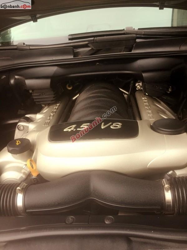 Bán Porsche Cayenne 4.5 đời 2004, màu vàng, xe nhập, số tự động