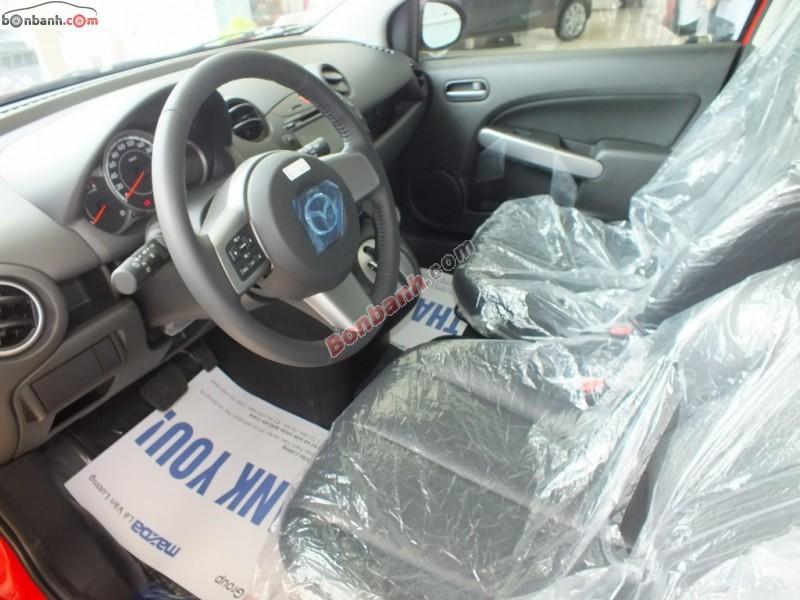 Cần bán Mazda 2 S năm 2015, màu đỏ, giá chỉ 577 triệu