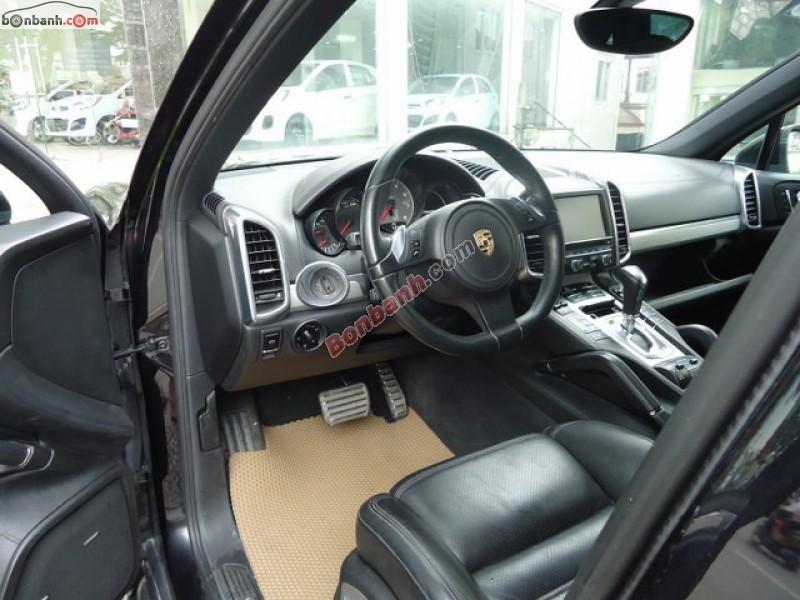 Cần bán xe Porsche Cayenne S 4.8-V8 đời 2011, màu đen, xe nhập, chính chủ