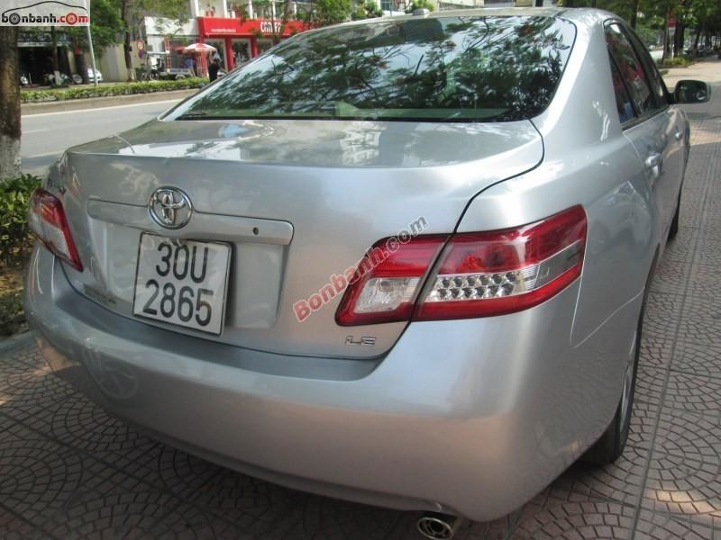 Xe Toyota Camry LE 2.5 đời 2009, màu xám, nhập khẩu nguyên chiếc