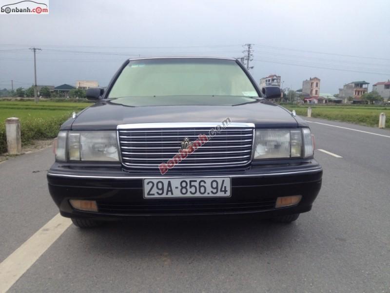 Toyota Crown Super Saloon 1996, màu đen, xe nhập, 399tr