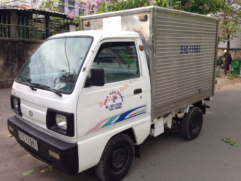 Bán ô tô Suzuki Super Carry Truck năm 2000, màu trắng