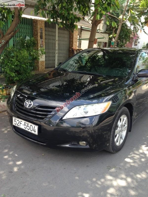 Bán ô tô Toyota Camry LE sản xuất 2007, màu đen, nhập khẩu nguyên chiếc